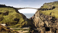 Shortlisted Concept Designs Revealed for the Tintagel Castle Footbridge