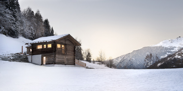 The Larch Barn / Alp'Architecture Sàrl, © Christophe voisin
