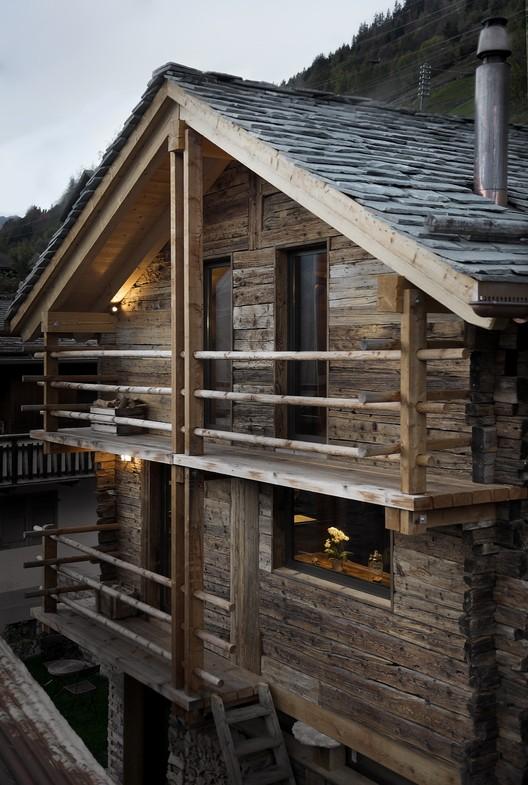Remodelación granero JS' / Alp'Architecture Sàrl, © Christophe Voisin