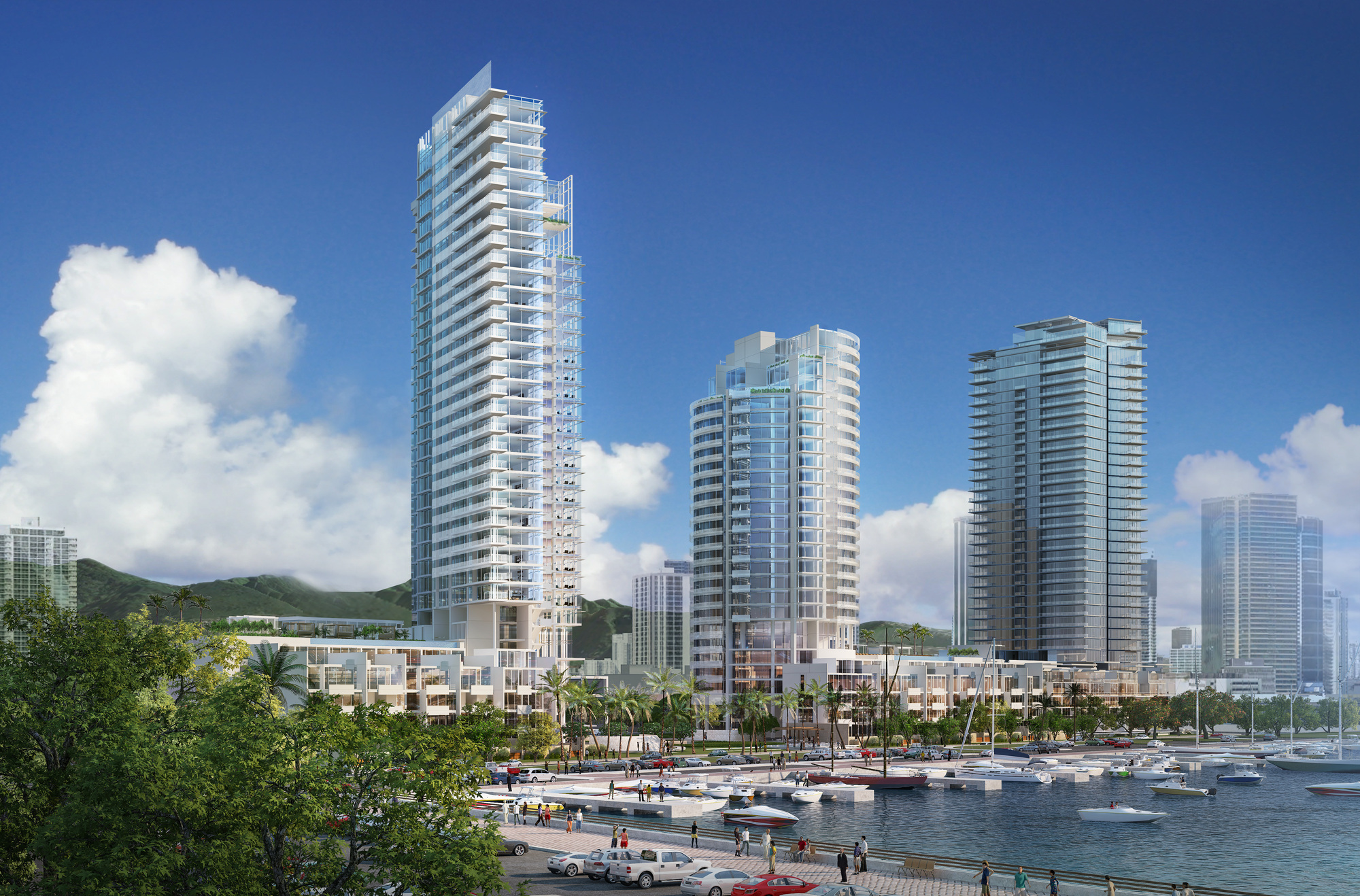Honolulu New Buildings