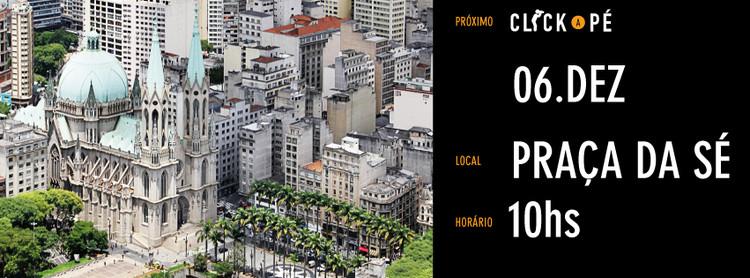 Segunda edição do Click a Pé promove passeio fotográfico no centro de São Paulo