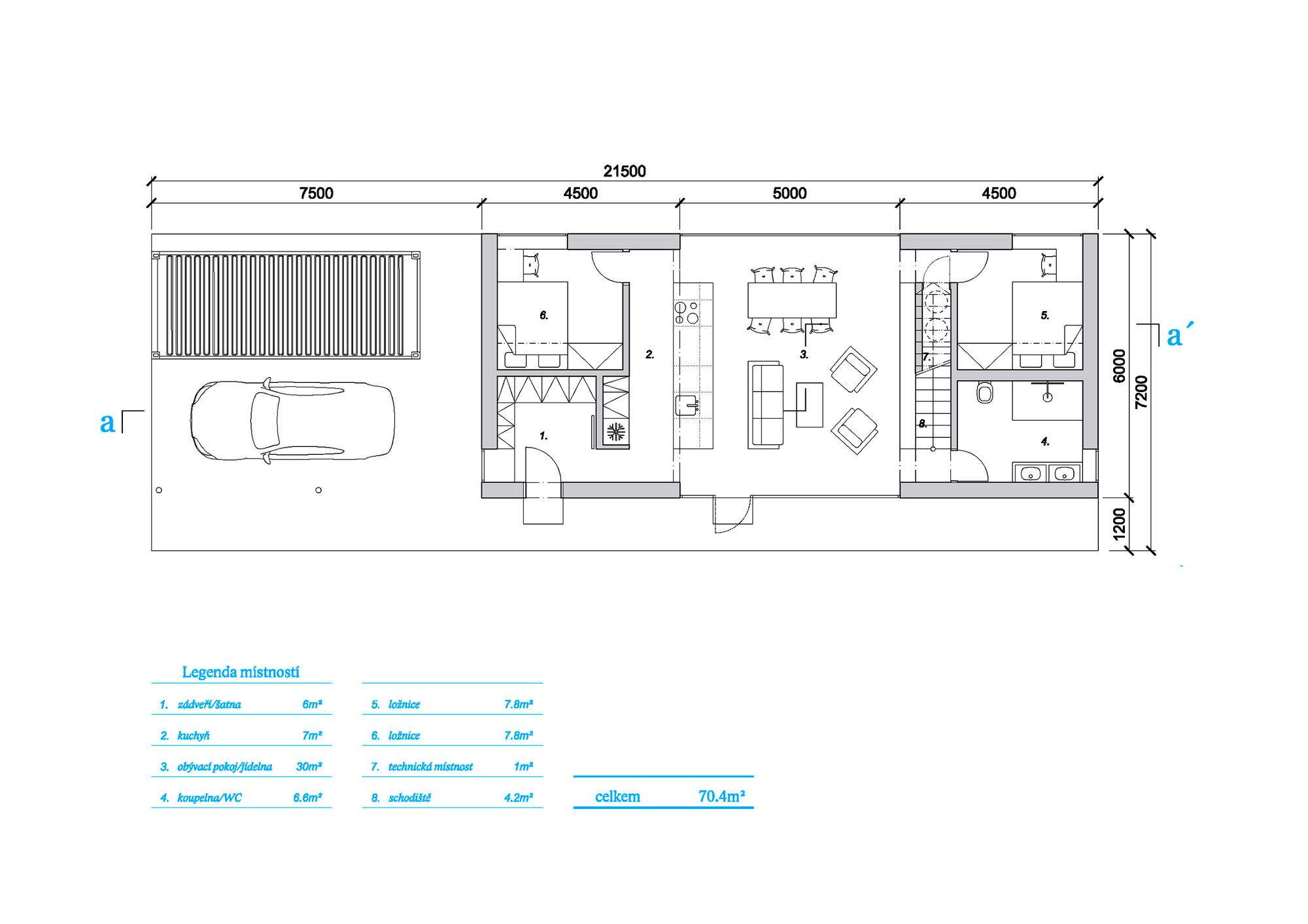 4 Bedroom Ground Floor Plan
