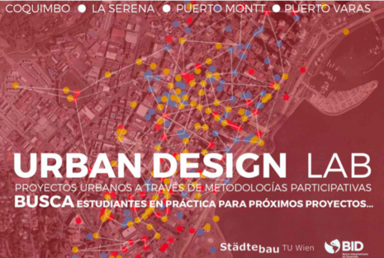 Convocatoria Urban Design LAB: prácticas en proyectos urbanos, Cortesía de Urban Design LAB