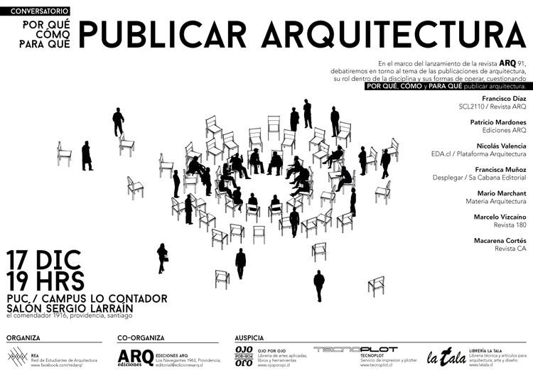 Conversatorio REA: Por qué / Cómo / Para qué Publicar arquitectura