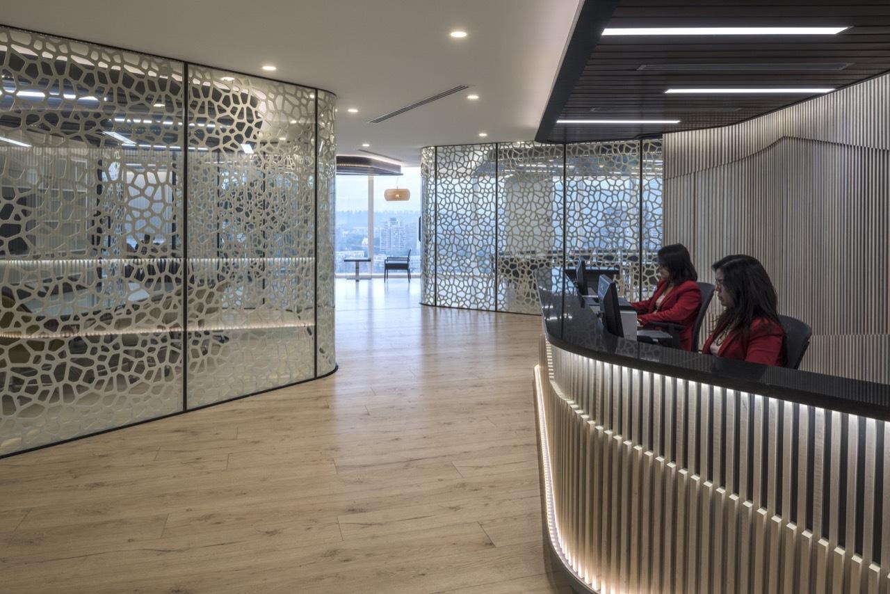 Oficinas para ferradanehme abogados ricardo abuauad for Arquitectura de oficinas modernas