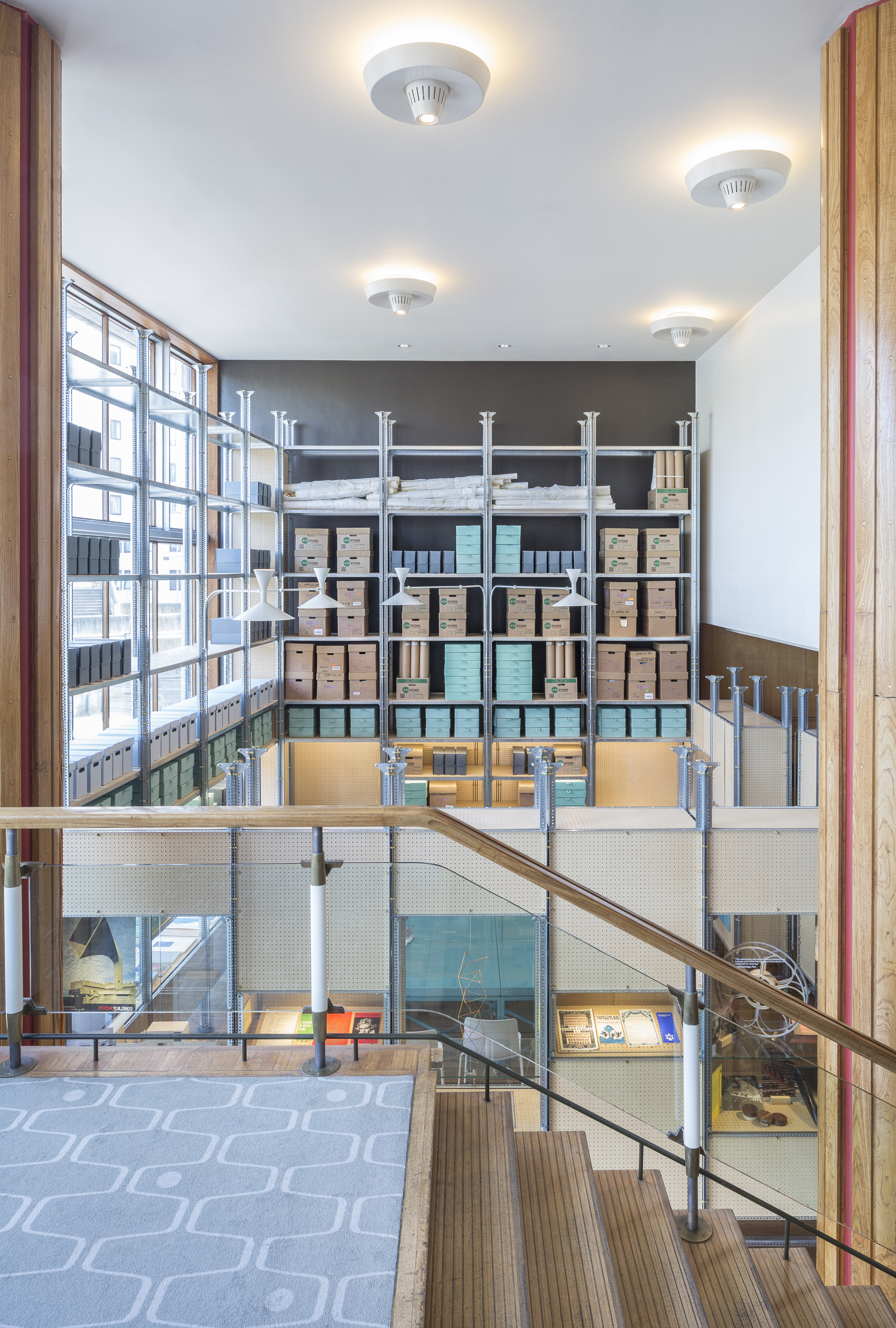 The Archive Studio Jonathan Tuckey Design Archdaily