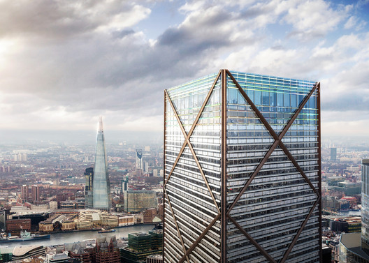 1 Undershaft / Eric Parry Architects. Image © DBOX for Eric Parry Architects