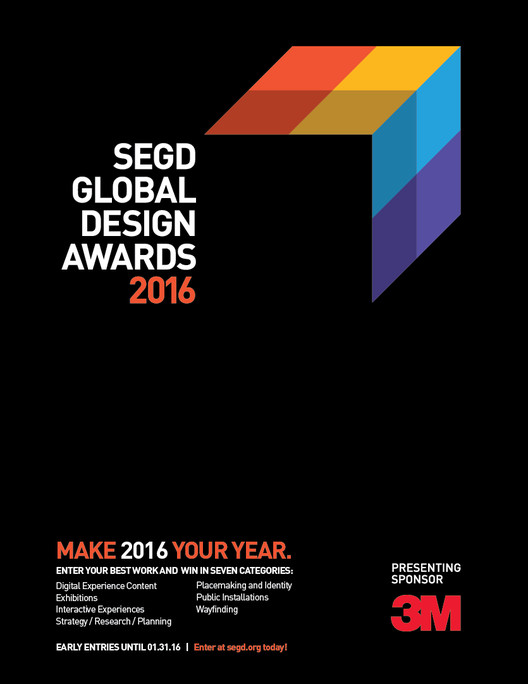 Call for Entries: 2016 SEGD Global Design Awards