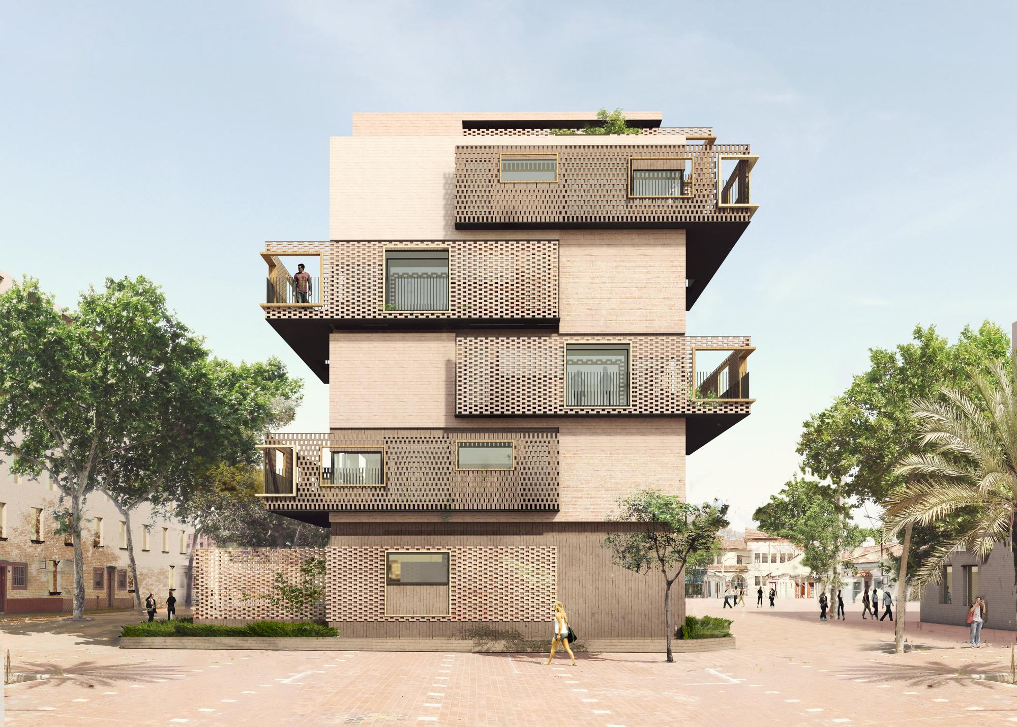 39 de peus a terra 39 un nuevo proyecto de vivienda social for Arquitectura de proyectos