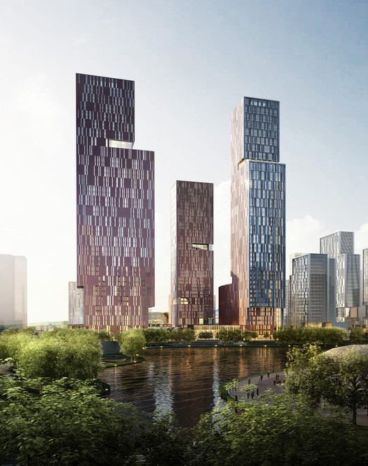 Ennead Architects Announces Plans for New Tech District in China, Courtesy of Ennead Architects