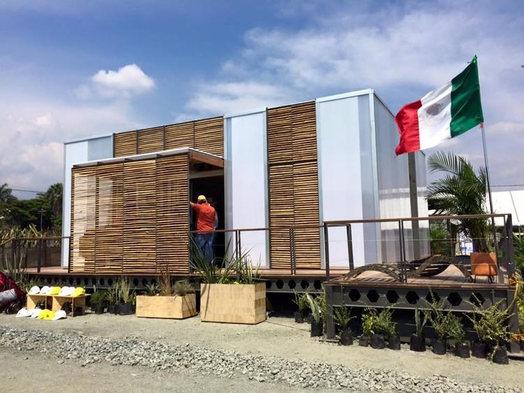 Abierta al público Casa Kuxtal, proyecto mexicano en Solar Decathlon 2015, vía KUXTAL