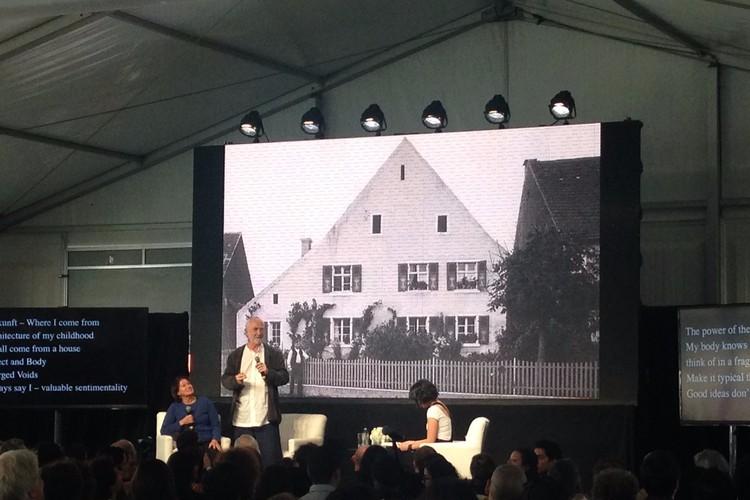 Arquitectura y Vida: Reflexiones finales de Peter Zumthor y Gloria Cabral en el Rolex Mentor and Protégé, © ArchDaily