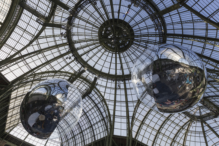 Tomás Saraceno Unveils Air-Filled Sculptures at COP21 That Will Travel the World , Courtesy of Studio Tomas Saraceno