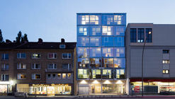 Residential and Office Building / blauraum Architekten
