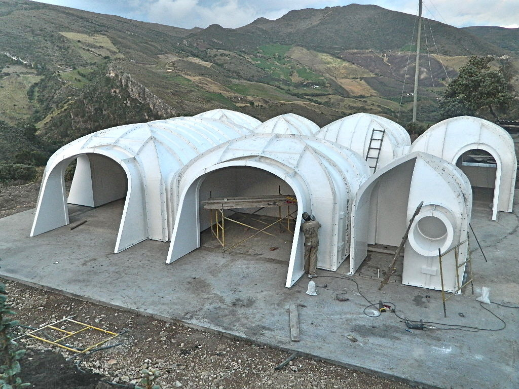 "Hobbit Homes gallery of these modular ""hobbit houses"" can be assembled in three"