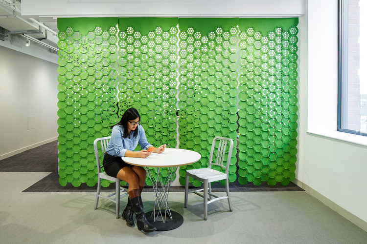 """Link"" by Gensler and FilzFelt Brings Color and Texture to Screens and Wallcoverings, Courtesy of FilzFelt"