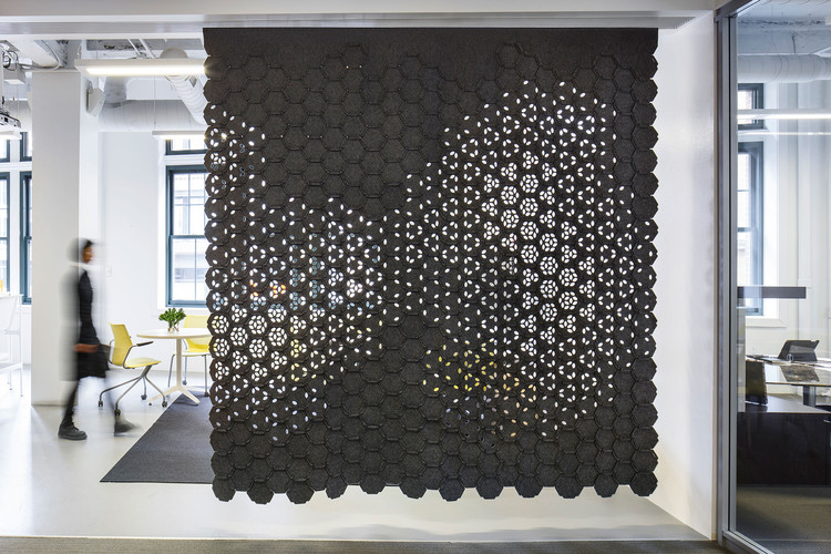 Link by Gensler and FilzFelt Brings Color and Texture to Screens