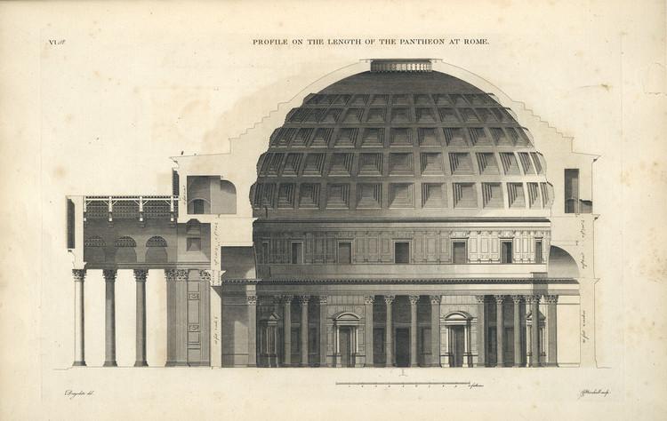 Que Clássico da Arquitetura você gostaria de ver publicado em 2016?, © Antoine Babuty Desgodetz, Les edifices antiques de Rome, 1682. Via visual.ly blog