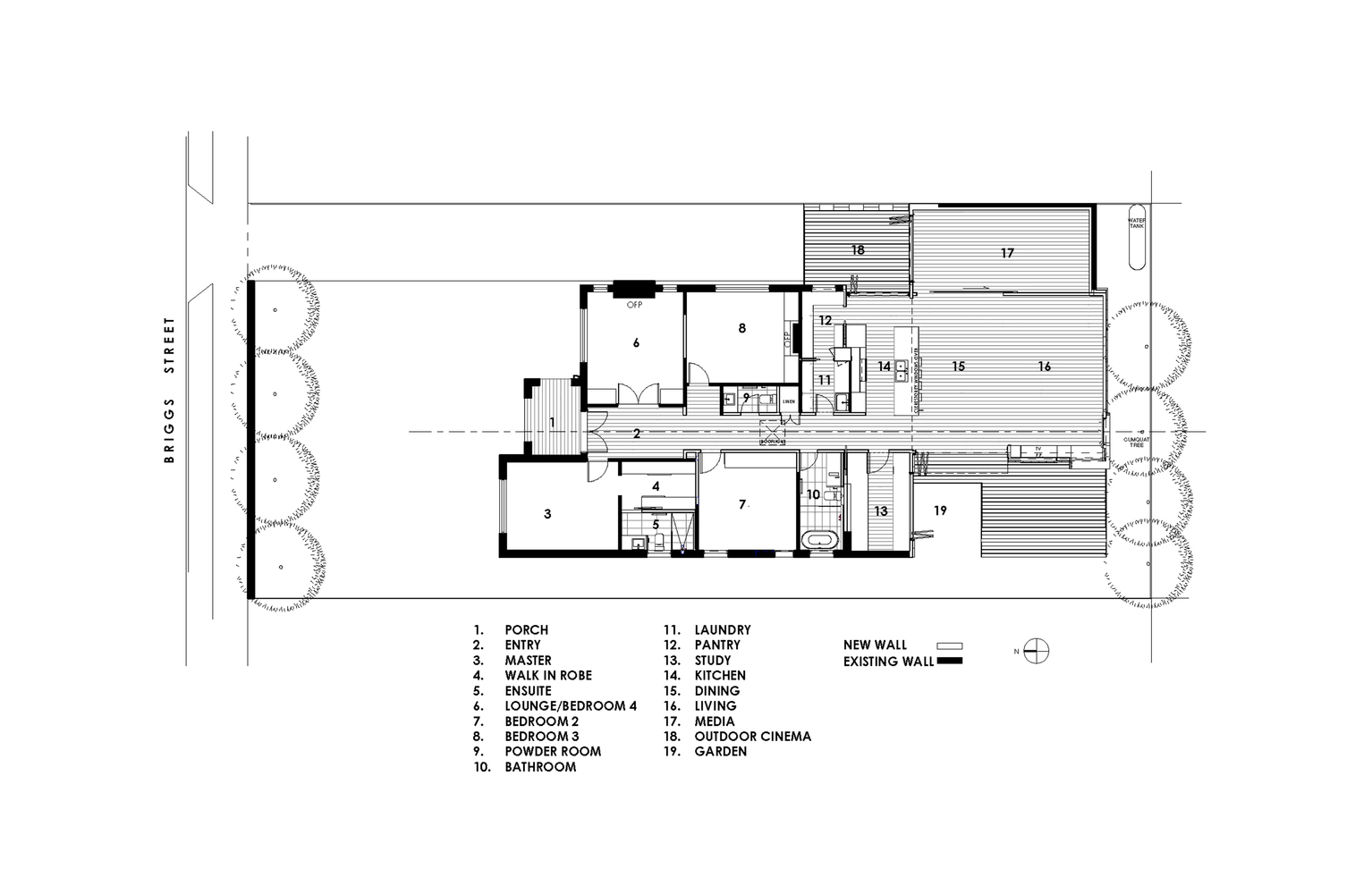 Cumquat Tree House,Floor Plan