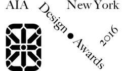 2016 AIANY Design Awards