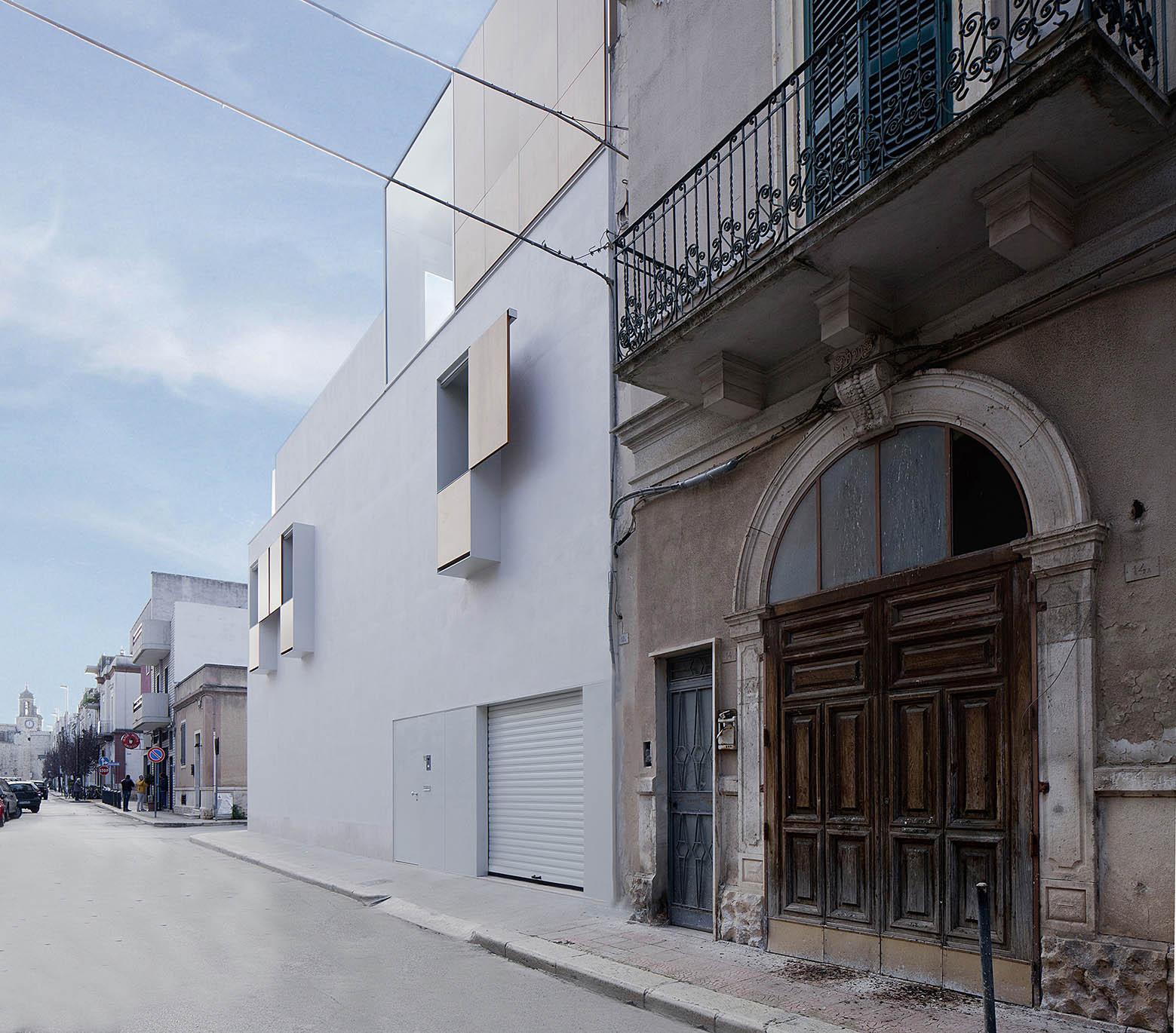 Casa cs moramarco ventrella architetti archdaily for Log casa architetti