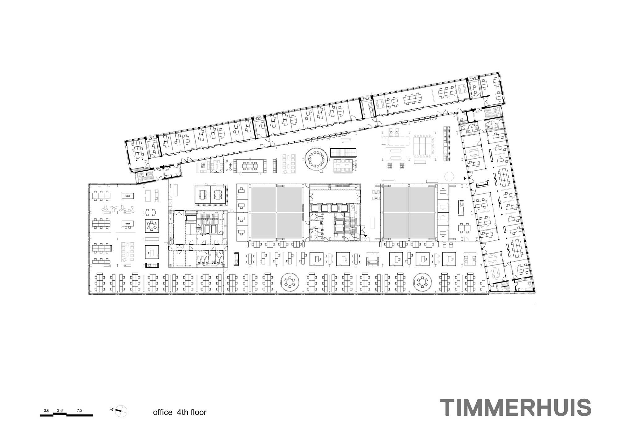 Gallery of timmerhuis oma 30 for Copy architectural plans