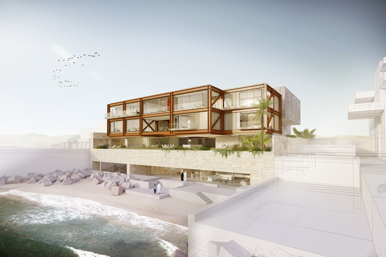 AGi architects, galardonado con tres premios y una mención honrosa en los Middle East Architect Award