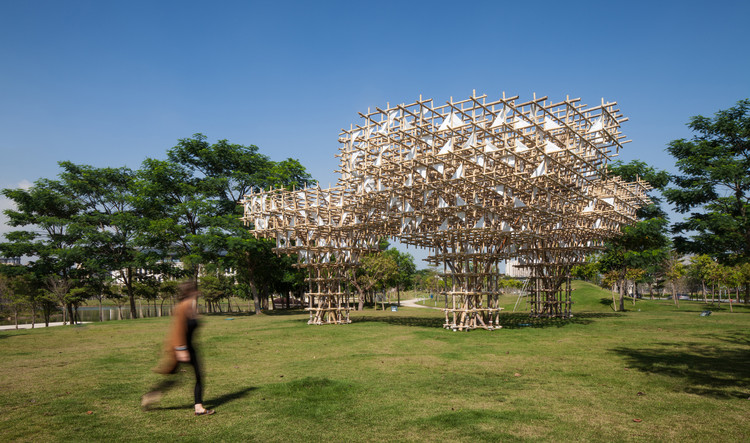 M.A.P. Pavilion / Impromptu Projects, © Zizu