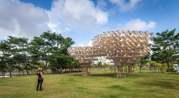 """Arte e Arquitetura: """"TREEPLETS"""" por Impromptu Projects, © © Zizu / Impromptu Projects"""