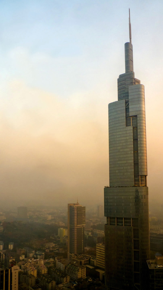 These Are the World's 25 Tallest Buildings,Zifeng Tower. Image © Tomchen1989 [Wikipedia] under license CC BY 2.0