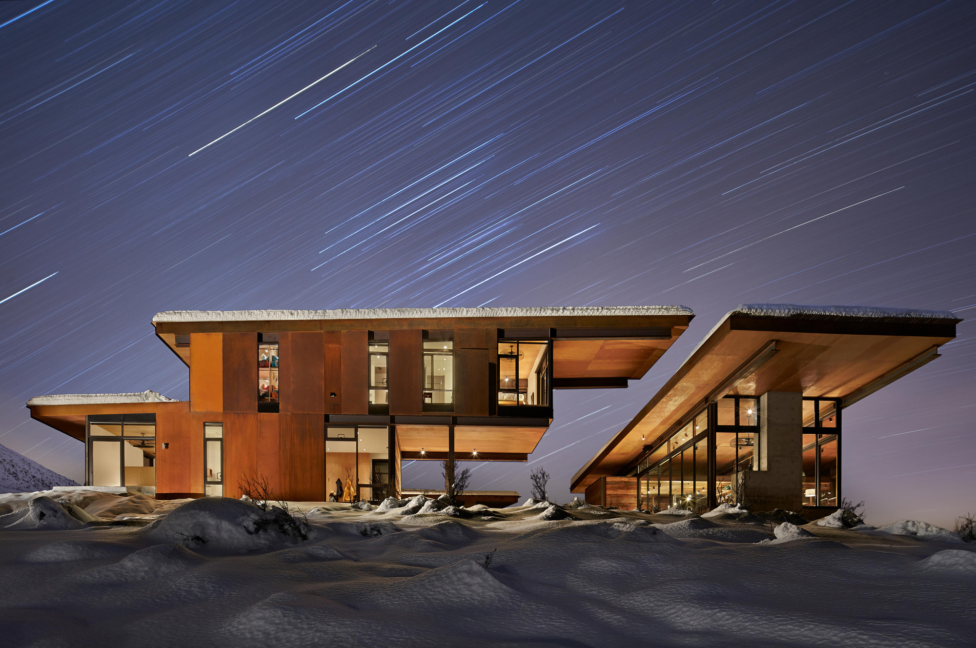 a frame house studhorse kundig archdaily 10055