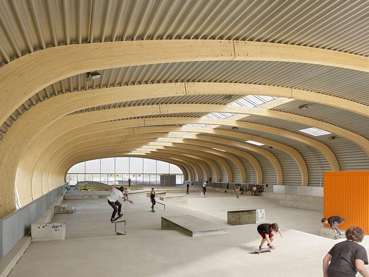 Skaterhall / Herrmann + Bosch Architekten, © Achim Birnbaum