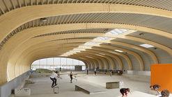 Skaterhall / Herrmann + Bosch Architekten