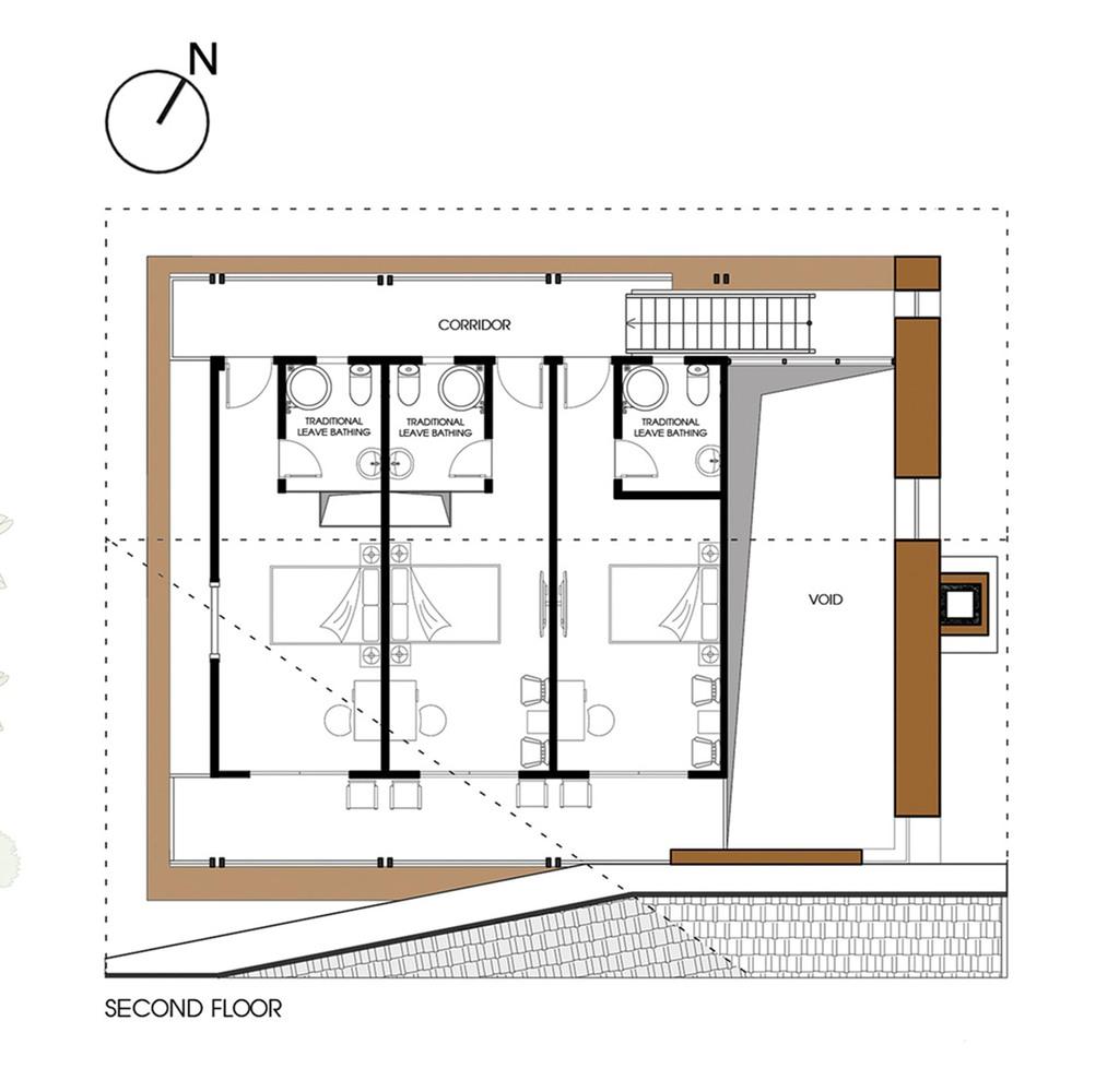 gallery of nam dam homestay and community house 1 1 u003e2 architects