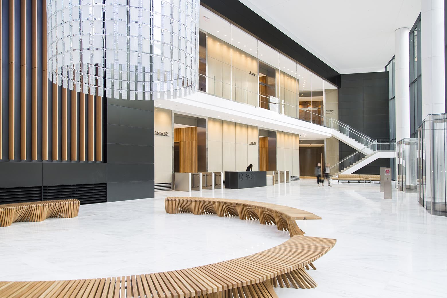 Gallery of the tower at pnc plaza gensler 4 for Design 4 office lausanne