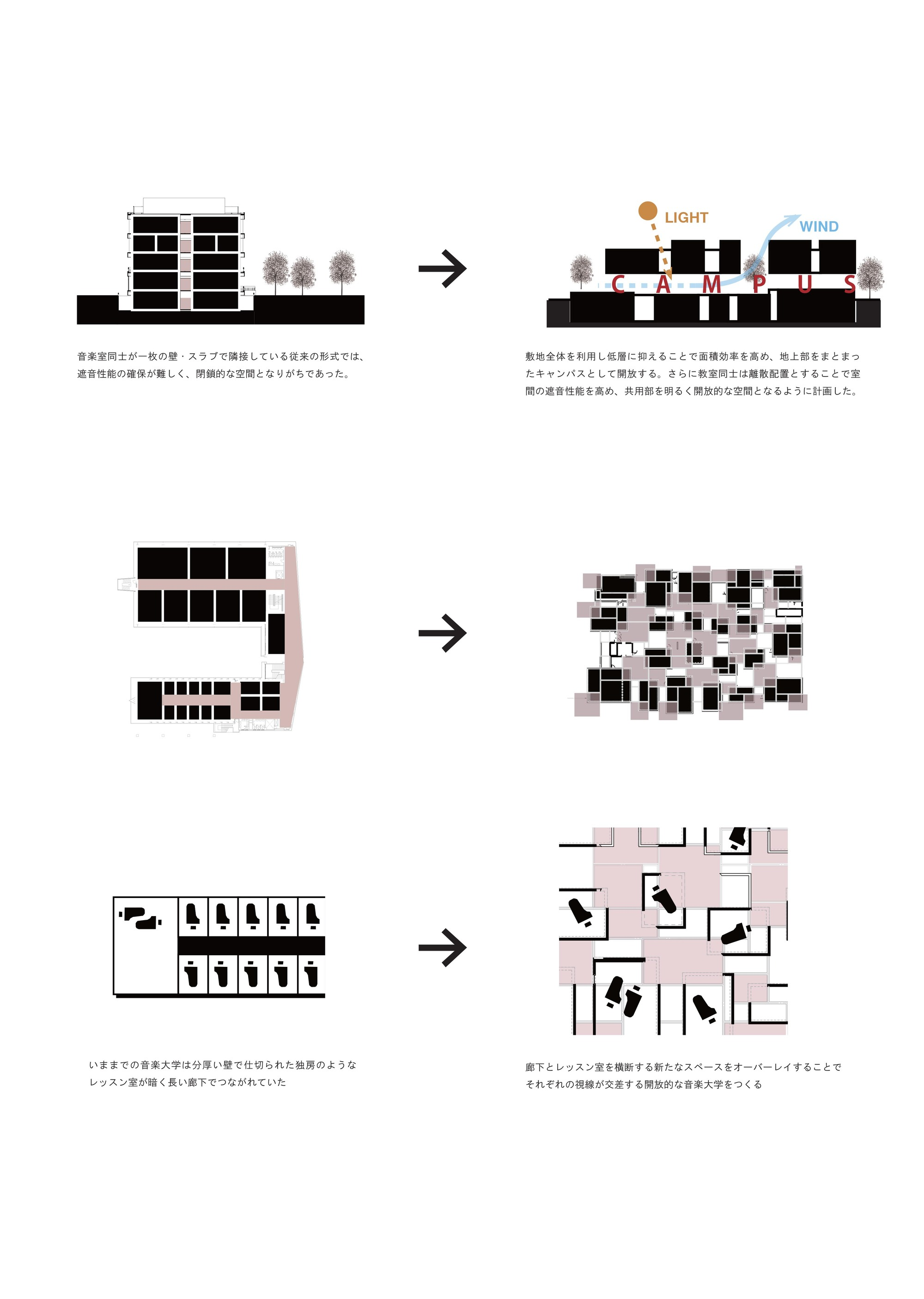Gallery Of Tohogakuen School Of Music    Nikken Sekkei