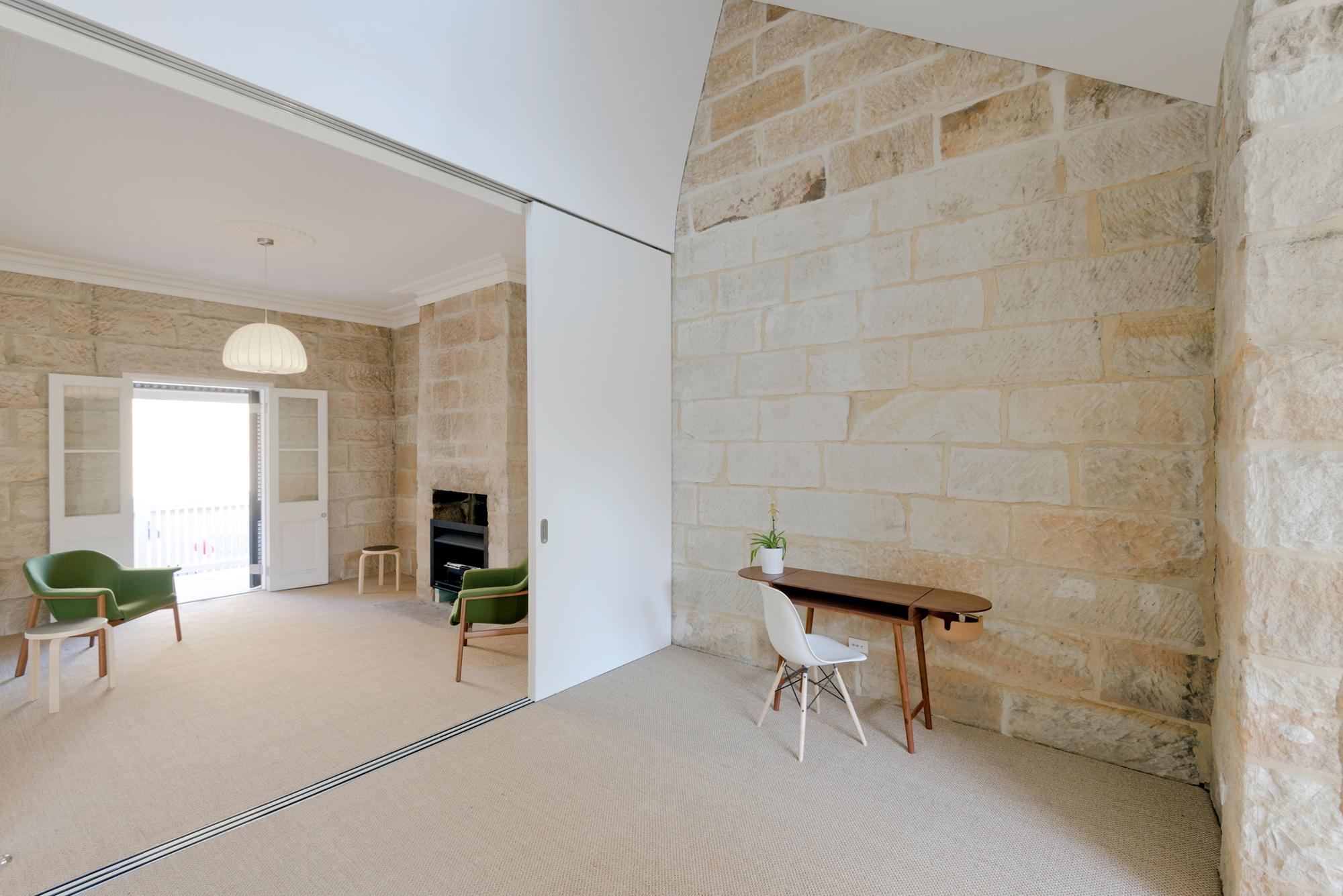 Balmain Sandstone Cottage Carterwilliamson Architects
