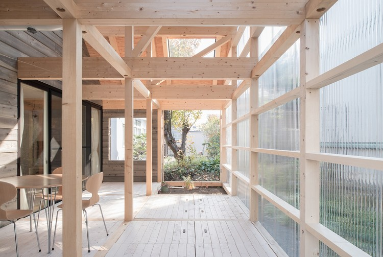Casa en Shinkawa / Yoshichika Takagi, © Yuta Oseto
