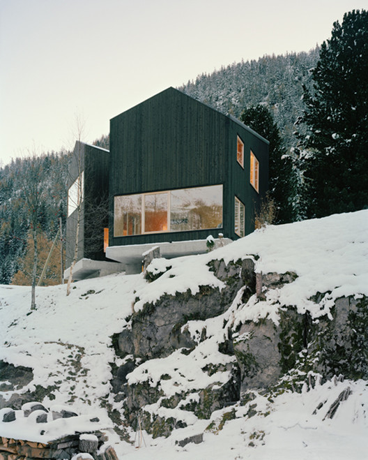 House in Les Jeurs / Lacroix Chessex Architectes, © Joël Tettamanti