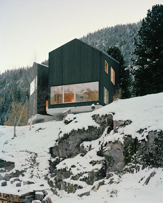 Casa em Les Jeurs / Lacroix Chessex Architectes, © Joël Tettamanti