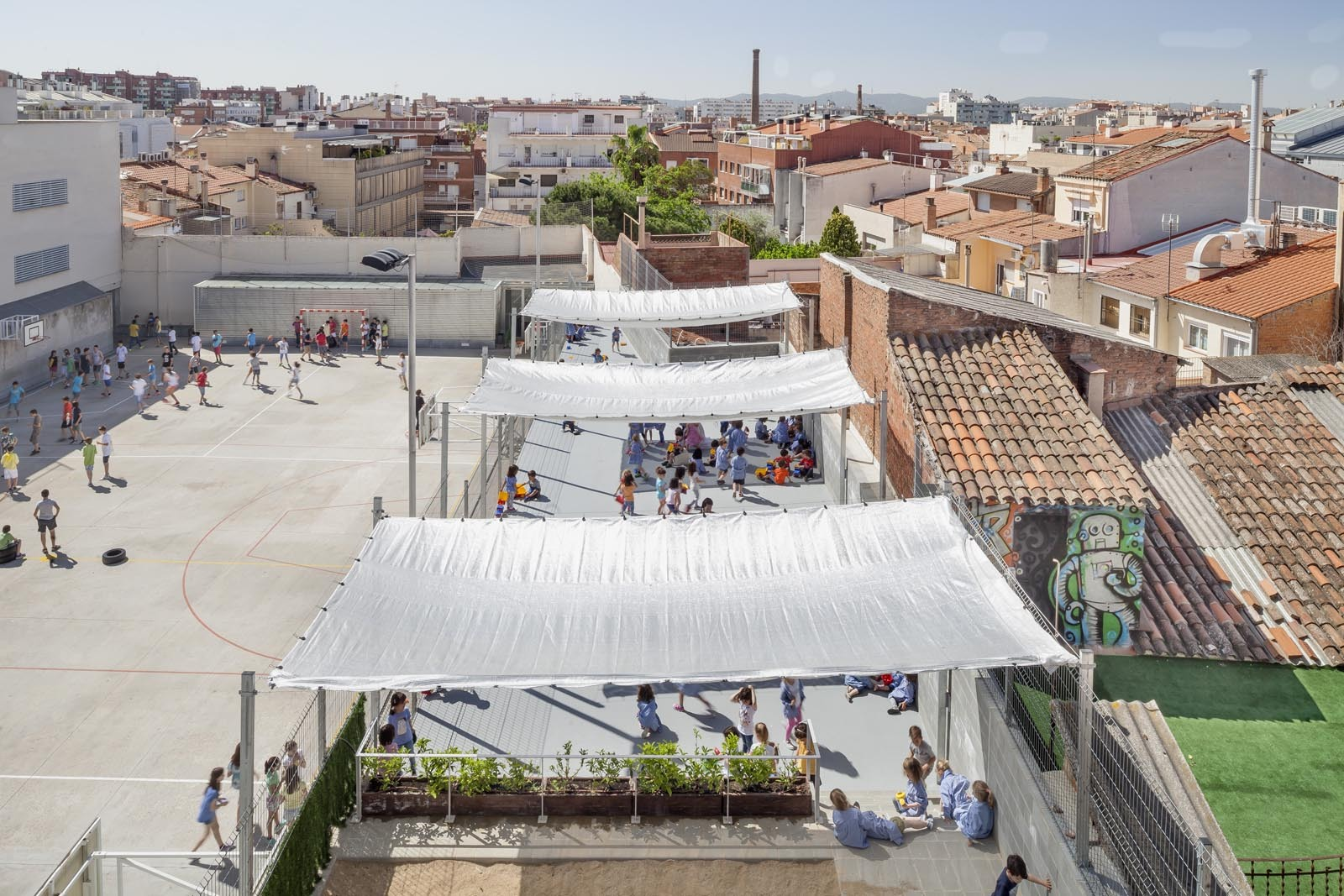 Gallery of refurbishment of 906 school in sabadell h - Arquitectes sabadell ...