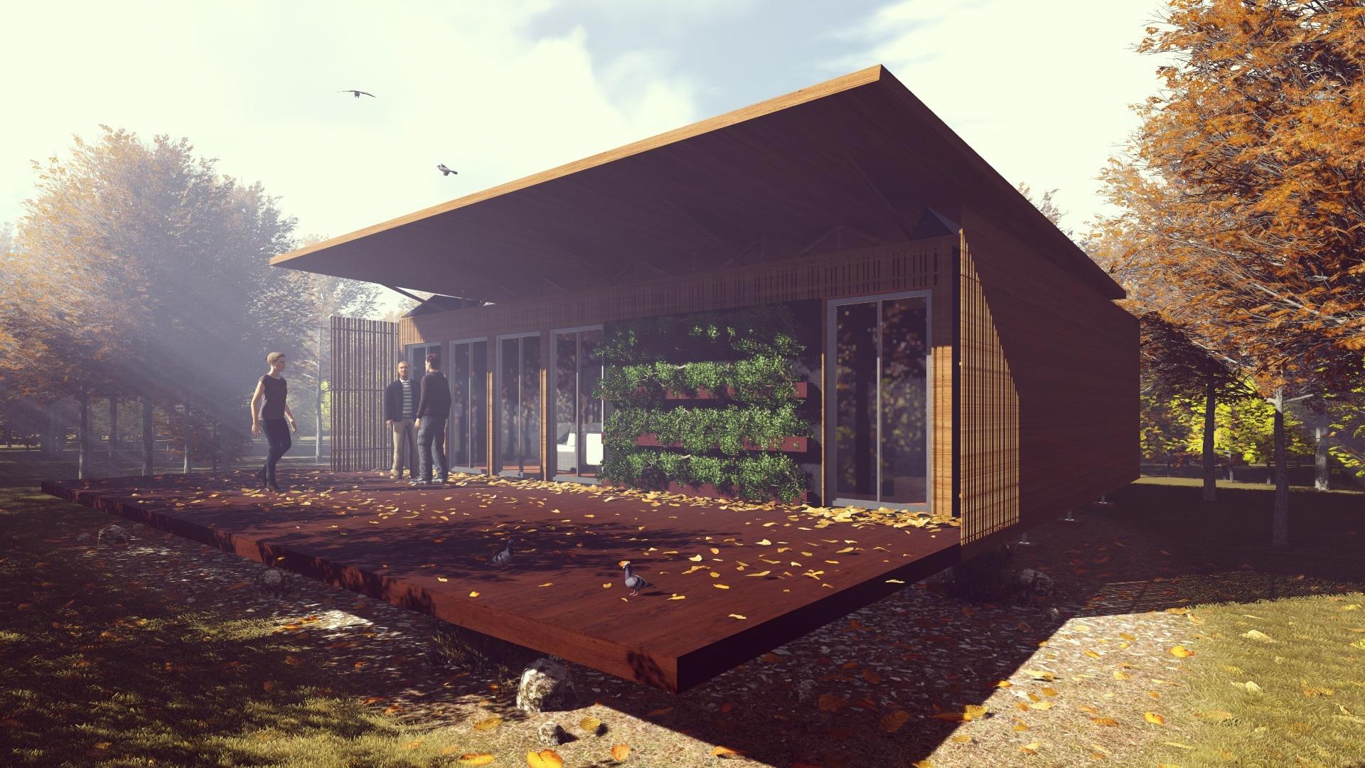 La casa uruguaya gana el solar decathlon am rica latina for Construccion de casas bioclimaticas