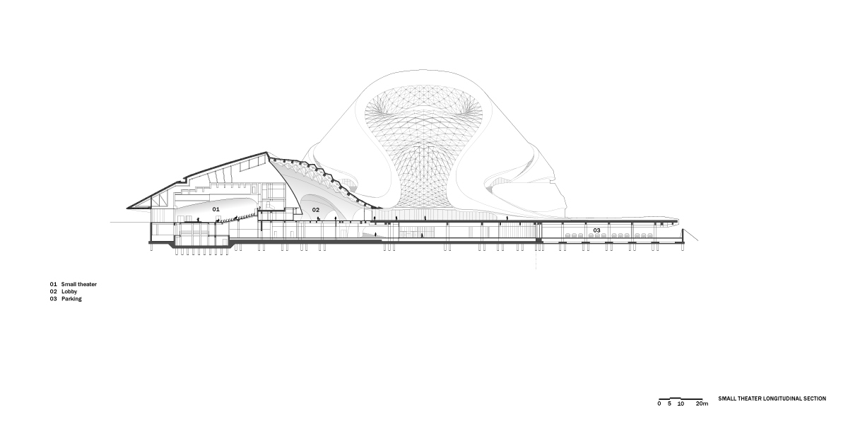 Gallery Of Harbin Opera House Mad Architects 34