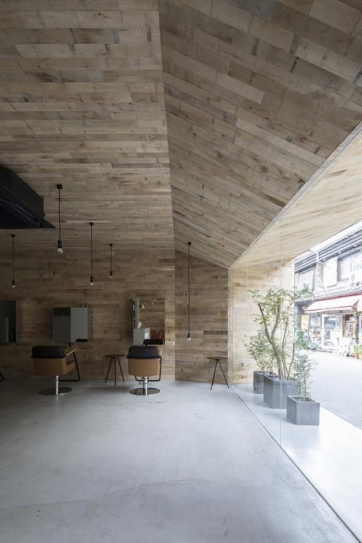 Mook Salon / Okuwada Architects, © Keishiro Yamada