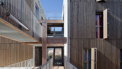 Social Housing + Shops in Mouans Sartoux / Comte & Vollenweider