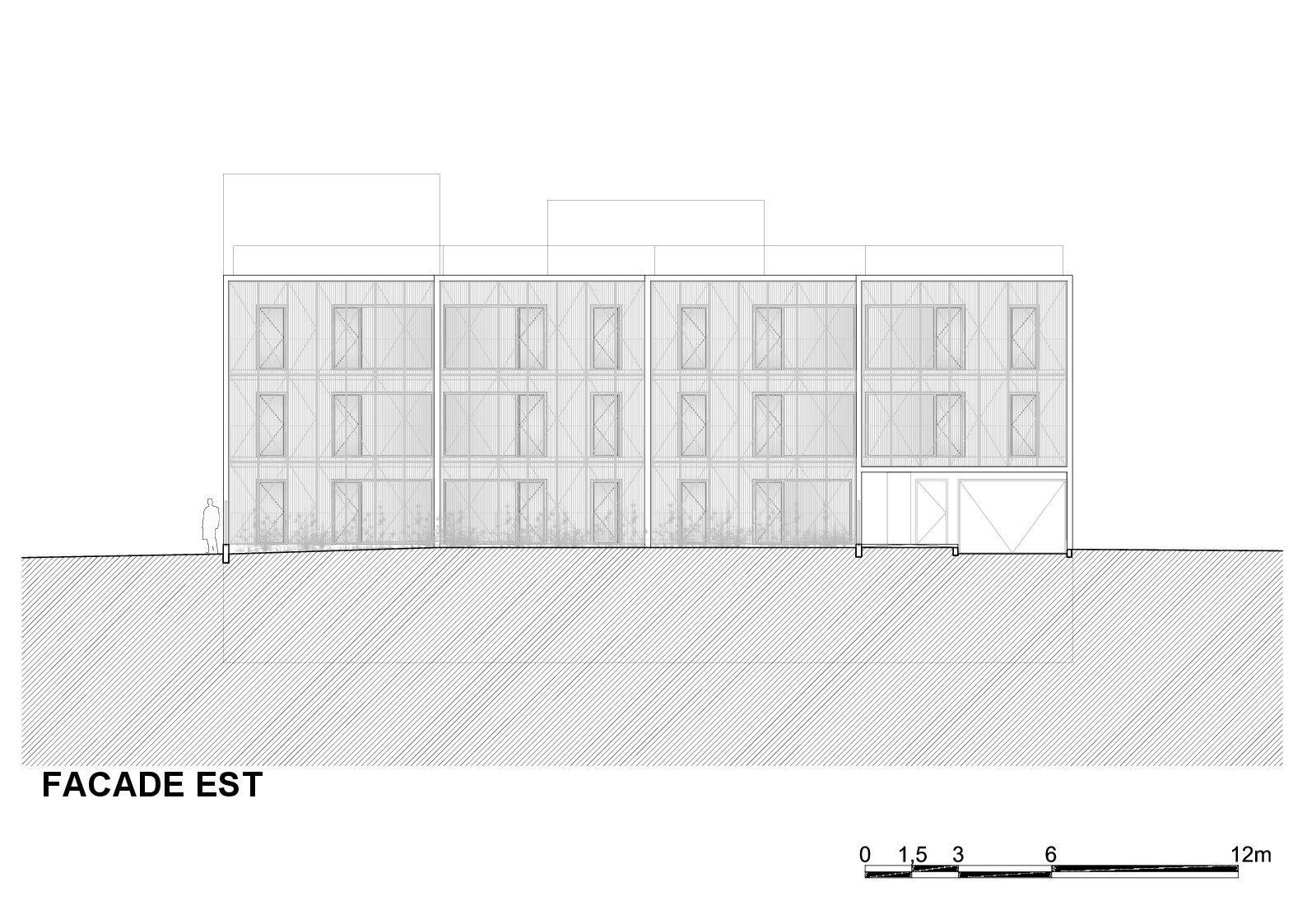 galer a de vivienda social tiendas en mouans sartoux comte et vollenweider architectes 43. Black Bedroom Furniture Sets. Home Design Ideas