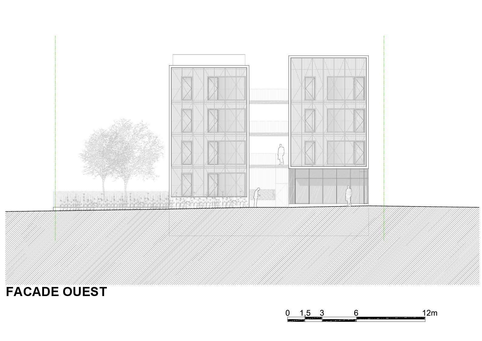 galer a de vivienda social tiendas en mouans sartoux comte et vollenweider architectes 44. Black Bedroom Furniture Sets. Home Design Ideas