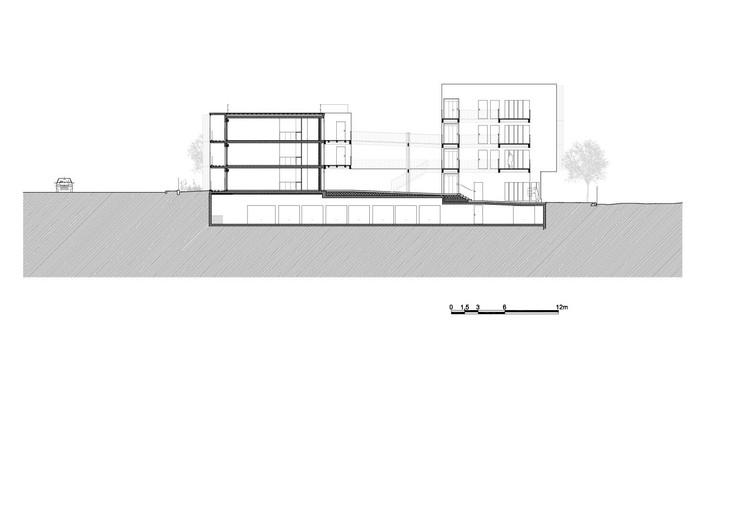 vivienda social tiendas en mouans sartoux comte et vollenweider architectes archdaily colombia. Black Bedroom Furniture Sets. Home Design Ideas