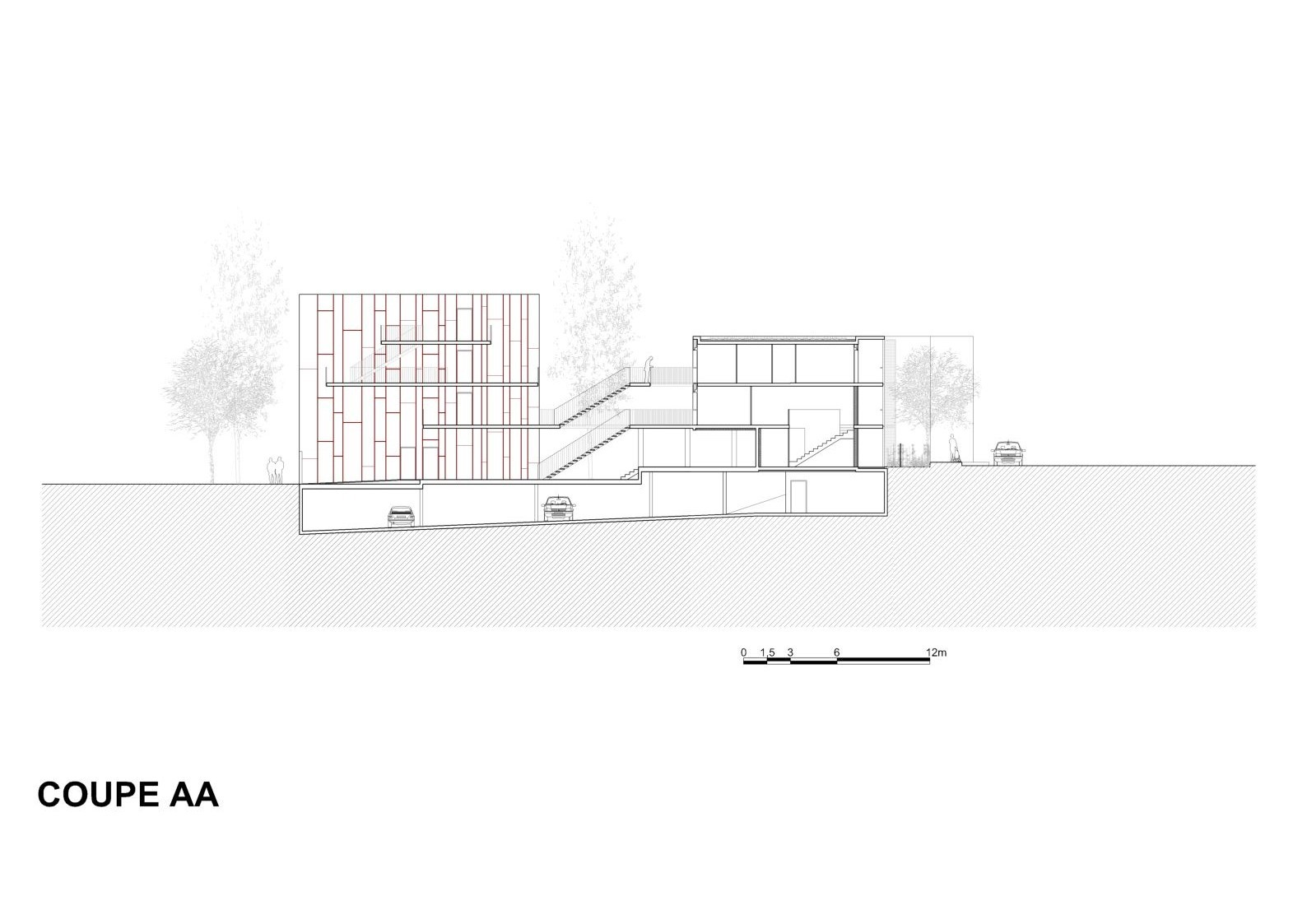 galer a de vivienda social tiendas en mouans sartoux comte et vollenweider architectes 46. Black Bedroom Furniture Sets. Home Design Ideas