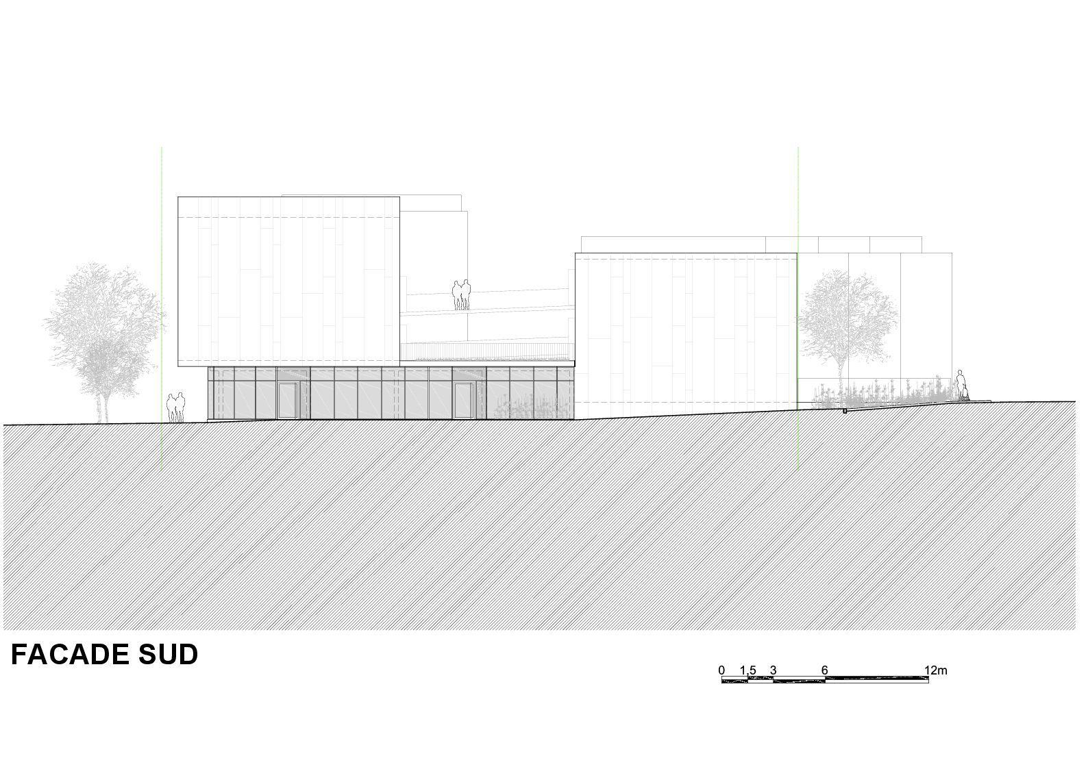 galeria de habita o social lojas em mouans sartoux comte et vollenweider architectes 42. Black Bedroom Furniture Sets. Home Design Ideas